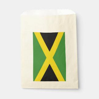 Favor bag with flag of Jamaica