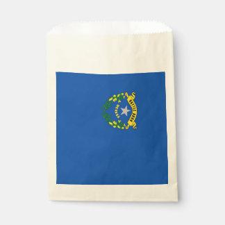 Favor bag with flag of Nevada State, USA