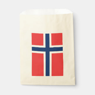 Favor bag with flag of Norway
