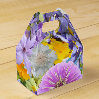 Favor/Gift Box - Flowers and Butterflies