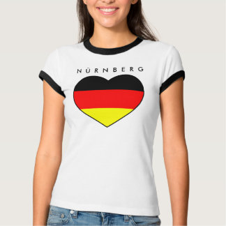 Favorable Nuremberg heart shirt Germany WM 2010