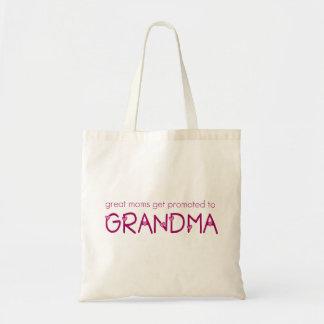 Favorisé à la grand-maman sac en toile budget