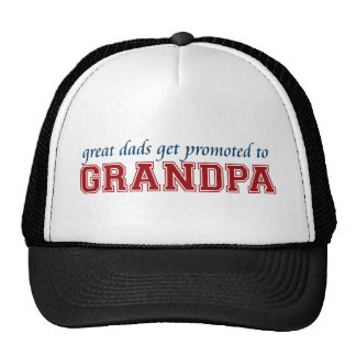 Favorisé au grand-papa casquette trucker