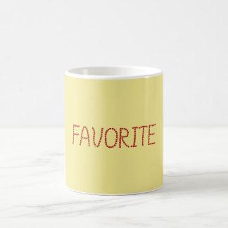 Favorite 11 oz Classic Mug