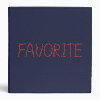 Favorite 1.5'' Binder