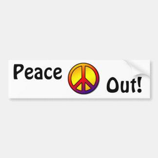 favorite 60's Clean Peace Sign 1 Bumper Sticker