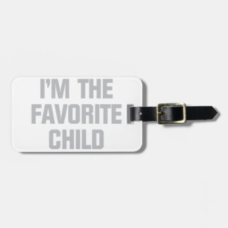 Favorite Child Luggage Tag