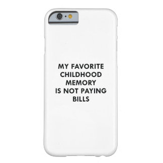 Favorite Childhood Memory Barely There iPhone 6 Case