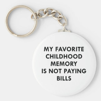 Favorite Childhood Memory Keychain