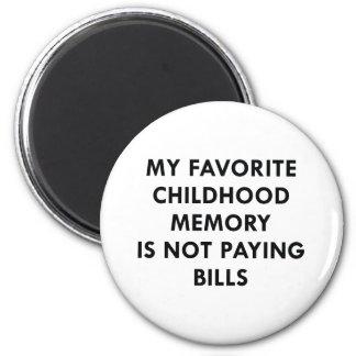 Favorite Childhood Memory Magnet