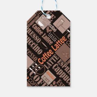 Favorite coffee gift tags
