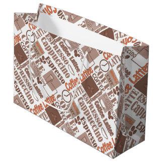 Favorite coffee large gift bag