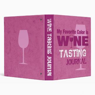 Favorite Color Is Wine Journal Binders