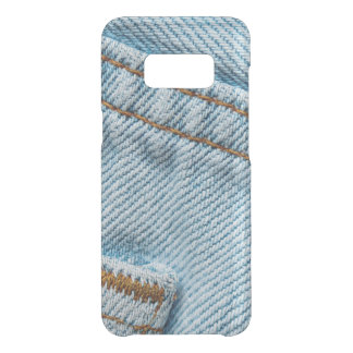 Favorite Faded Comfortable Blue Jeans Uncommon Samsung Galaxy S8 Case