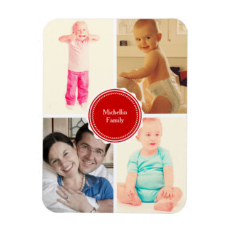 Favorite Family Photos Magnet