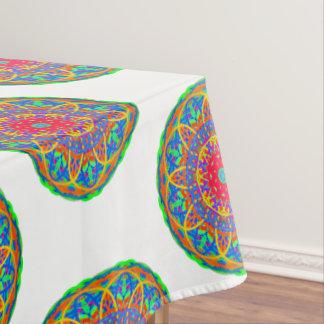 Favorite Fiesta Colorful Mandala Tablecloth