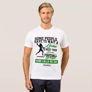 Favorite Football Player Quarterback Dad Father T-Shirt