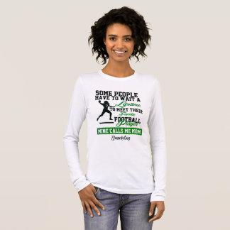 Favorite Football Player Quarterback Mother Mom Long Sleeve T-Shirt