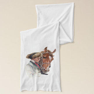 Favorite Horse and Lady Scarf