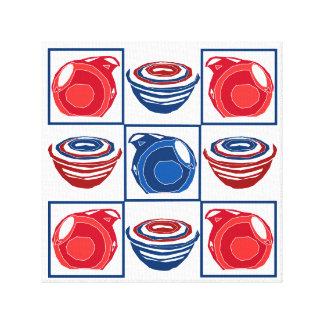 Favorite Kitchenware in Sparkler - Pitchers Bowls Canvas Print