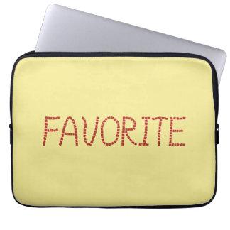 Favorite Laptop Sleeve 13''