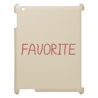 Favorite Matte iPad Case