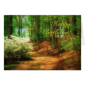 Favorite Path - Birthday Card