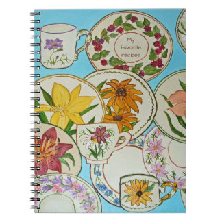 Favorite recipes notebook