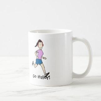 Favorite runner mug- personalized cartoon basic white mug