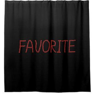 Favorite Shower Curtain