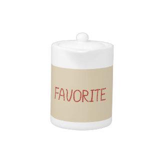 Favorite Small Teapot