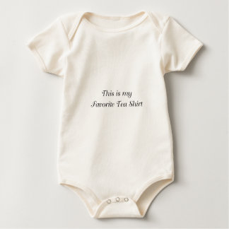 Favorite Tea Baby Bodysuit