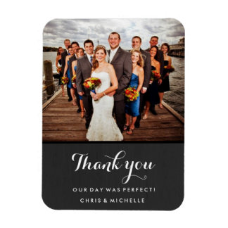 Favorite Wedding Photo Thank You Magnet