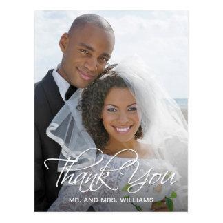 Favorite Wedding Photo Thank You Postcard