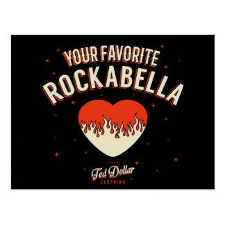 Favorite Your Rockabella Postcard
