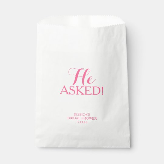 Favour Bag - He Asked