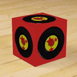 Favour Box. Vinyl Record. Favor Box