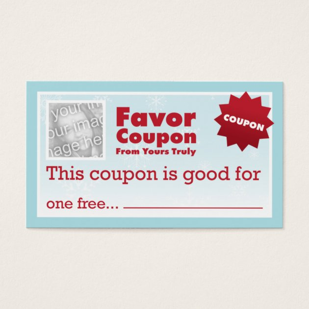 Favor Coupons Demirediffusion