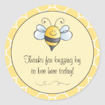 Favour Sticker   Bumble Bee