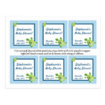 Favour Tags Turtle Reef Ocean Sea Turtle Post Cards