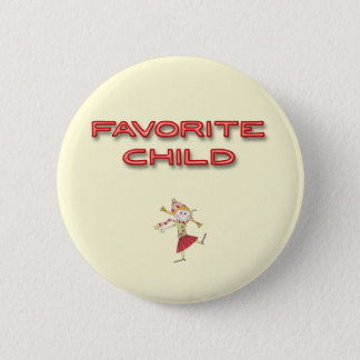 Favourite Child 2 Inch Round Button