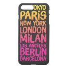 Favourite Cities Neon iPhone 8 Plus/7 Plus Case