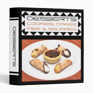 Favourite Family Dessert Recipe Binder