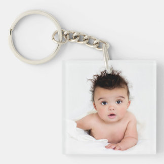 Favourite Photos 2-Photo Template Keychain