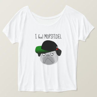 "Favourite shirt ""FEEL MOPSFIDEL """