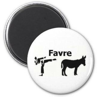 Favre Kicks A** Magnet