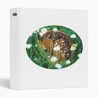 fawn 3 ring binder