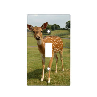 Fawn Baby Deer Light Switch Cover
