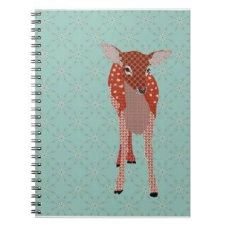 Fawn Blue Notebook