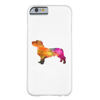 Fawn Brittany Basset in watercolor Barely There iPhone 6 Case